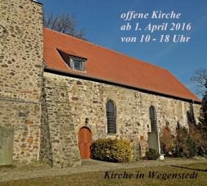 Kirche Wegenstedt